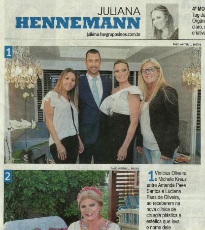 Jornal NH - Juliana Hennemann
